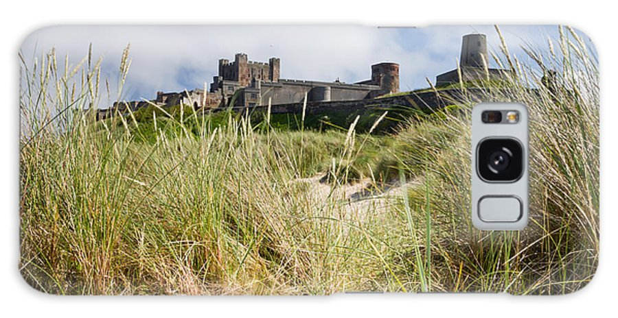 Bamburgh Castle Galaxy S8 Case featuring the photograph Bamburgh Castle From The Dunes by David Head