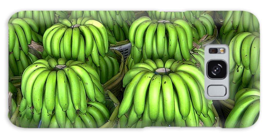 Banana Galaxy S8 Case featuring the photograph Banana Bunch Gathering by Douglas Barnett