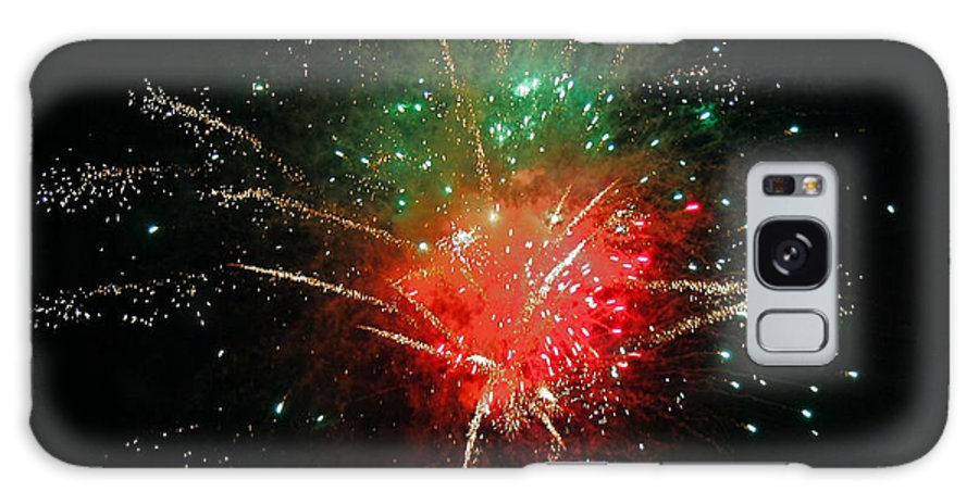 Fire Works Galaxy S8 Case featuring the photograph Bang by Elias D Bennett