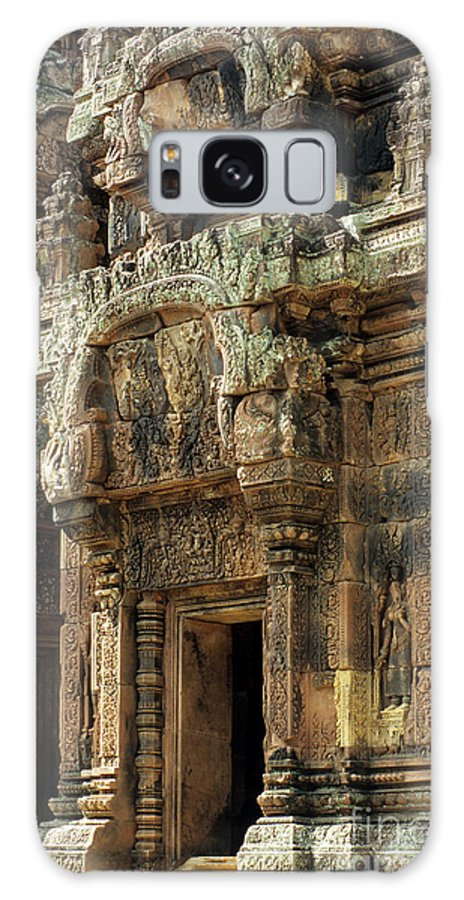 Cambodia Galaxy S8 Case featuring the photograph Banteay Srei Temple 01 by Rick Piper Photography
