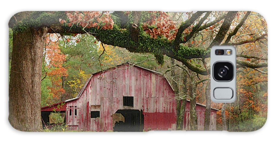 Landscape Galaxy S8 Case featuring the photograph Barn And Tree by Robert Camp