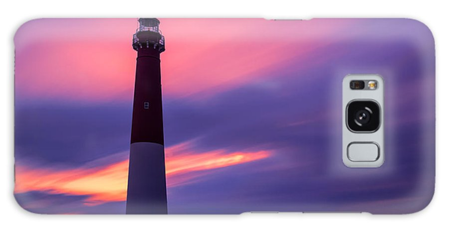 Le Galaxy S8 Case featuring the photograph Barnegat Sunset Le by Michael Ver Sprill