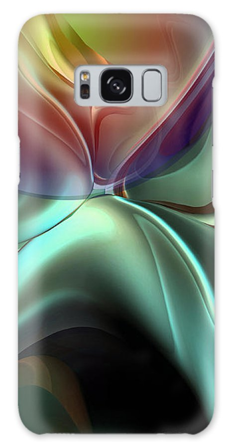 Reminiscence Galaxy Case featuring the painting Baroque Music Reminiscence by Christian Simonian