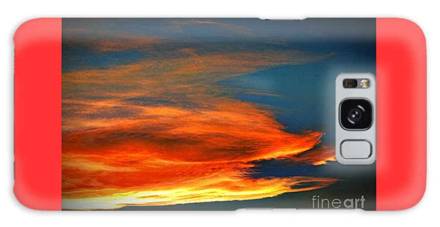 Barracuda Cloud Galaxy S8 Case featuring the photograph Barracuda Cloud by Phyllis Kaltenbach