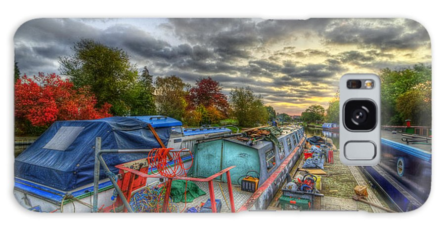 Hdr Galaxy S8 Case featuring the photograph Barrow Boats by Yhun Suarez
