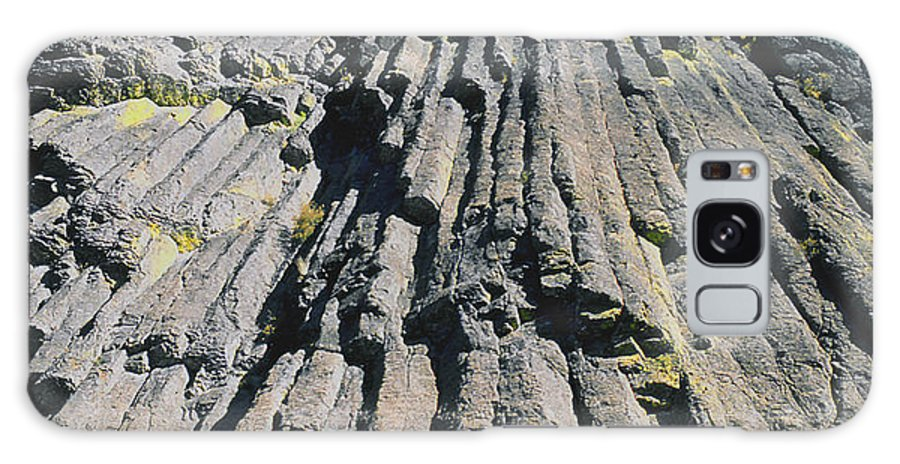 Basalt Columns Galaxy S8 Case featuring the photograph M-a5607-basalt Columns On Pilot Rock by Ed Cooper Photography