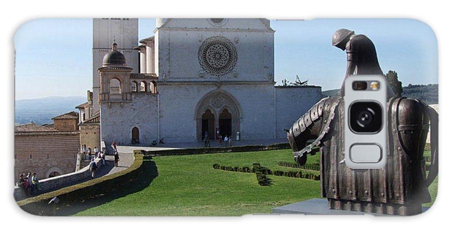 Basilica Di San Francesco Galaxy S8 Case featuring the photograph Basilica Di San Francesco - Assisi by Phil Banks