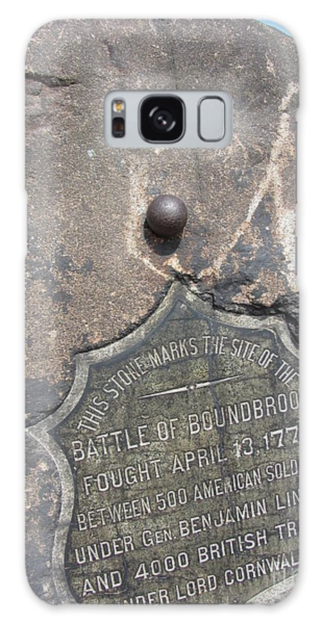Battle Galaxy S8 Case featuring the photograph Battle Of Bound Brook - Revolutionary War by Susan Carella