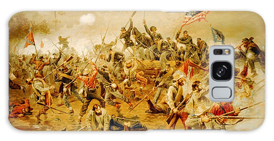 Battle Of Spotsylvania Thure De Thulstrup Galaxy S8 Case featuring the painting Battle Of Spotsylvania Thure De Thulstrup by MotionAge Designs