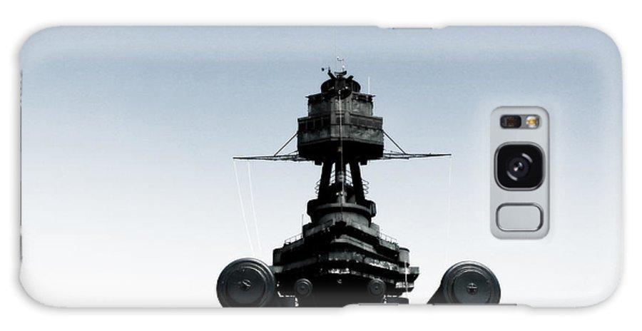 Battleship Galaxy S8 Case featuring the photograph Batttleship Texas by Bekka Delafield