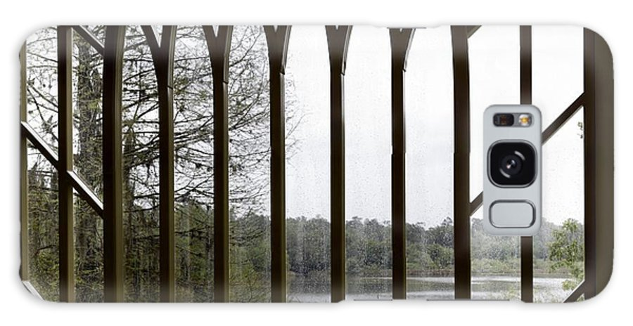 Gigapan Galaxy S8 Case featuring the photograph Baughman Center Window by William Ragan