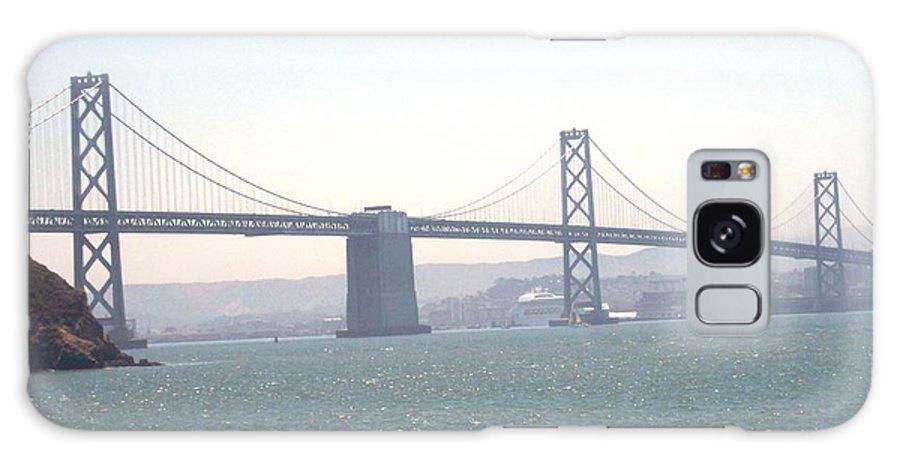 Bay Bridge Galaxy Case featuring the photograph Bay Bridge by Pharris Art