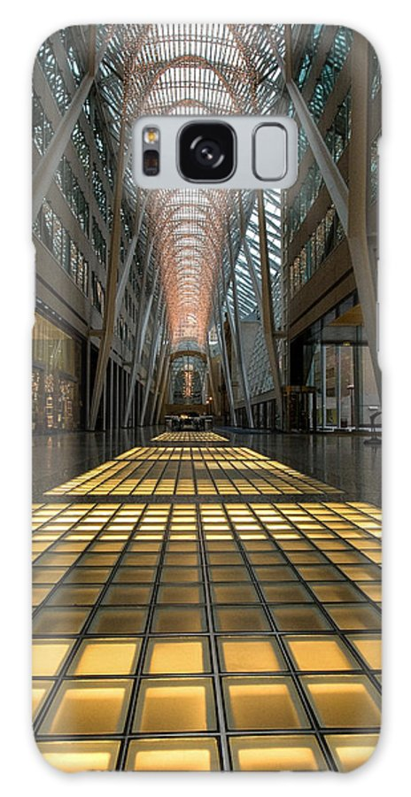 Architecture Galaxy S8 Case featuring the photograph Bce Place by Harry Cartner