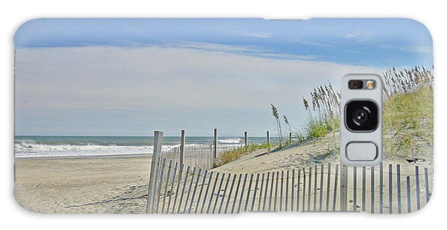 Beach Galaxy S8 Case featuring the photograph Beach At Outer Banks by M Bleichner