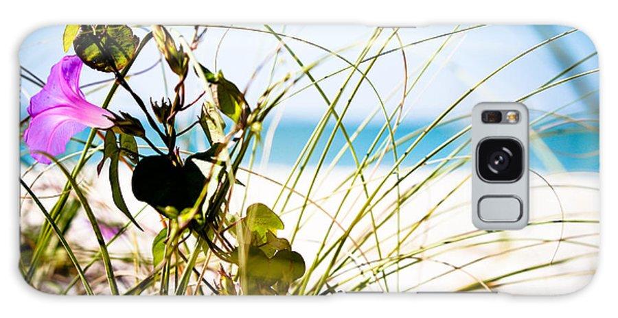 Beach Galaxy S8 Case featuring the photograph Beach Flower by Christina Kozlowski