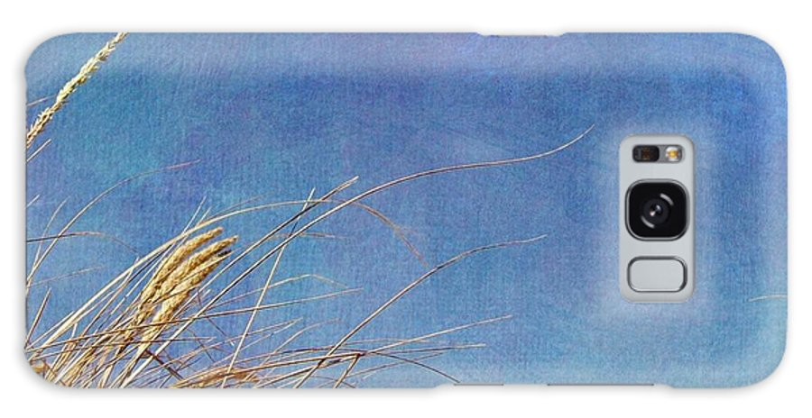 Beach Galaxy S8 Case featuring the photograph Beach Grass In The Wind by Michelle Calkins