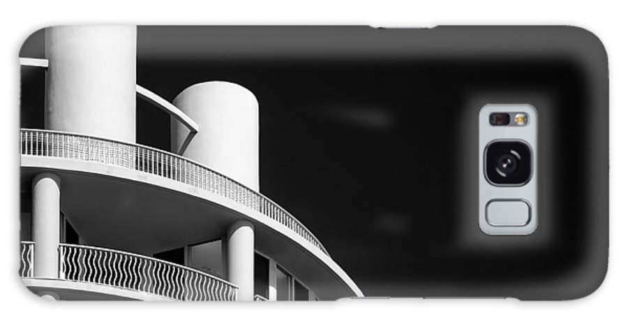 Hotel Galaxy S8 Case featuring the photograph Beach Hotel by Dave Bowman