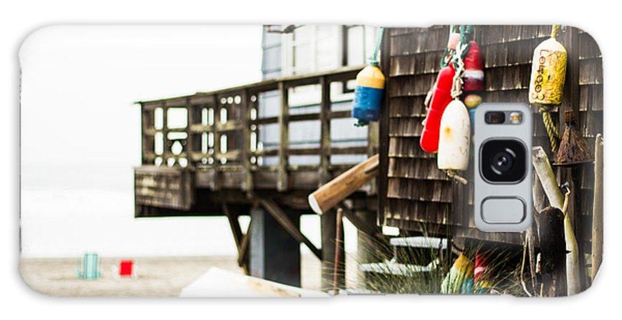 Beach Galaxy S8 Case featuring the photograph Beach House 2 by Philip Tolok