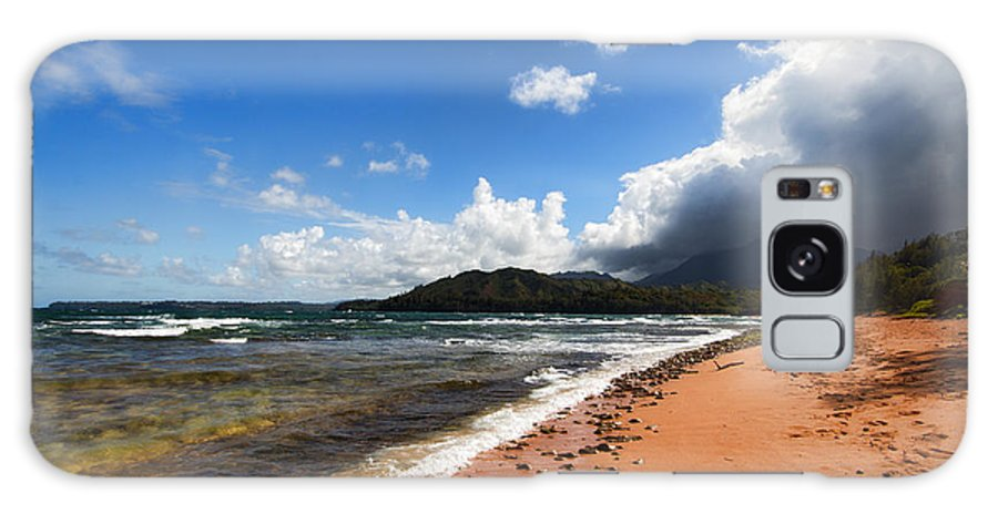 Beach Galaxy S8 Case featuring the photograph Beach Of Color by Douglas Barnard
