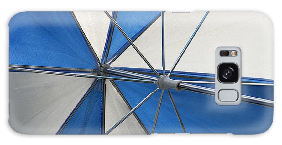 Beach Umbrella Galaxy S8 Case featuring the photograph Beach Umbrella by Art Block Collections