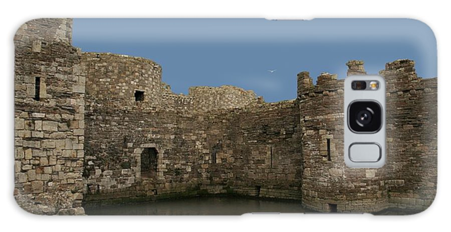 Castles Galaxy Case featuring the photograph Beamaris Castle by Christopher Rowlands