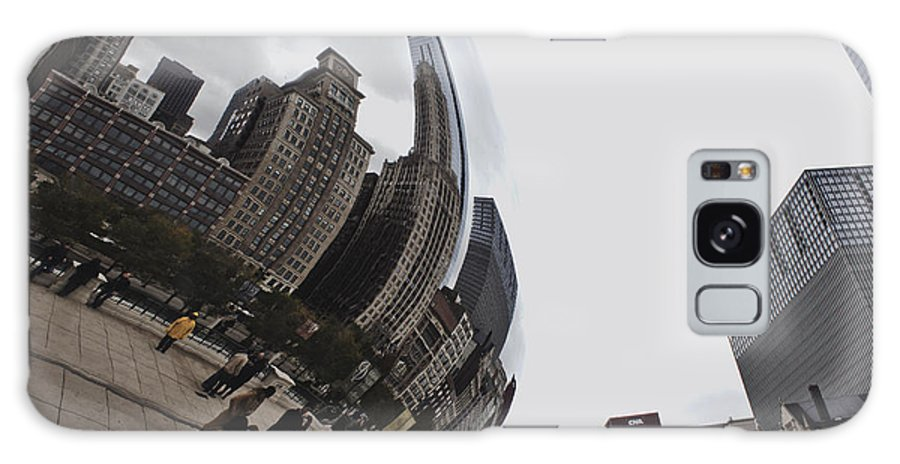 Chicago Galaxy S8 Case featuring the photograph Bean by Bailey Barry