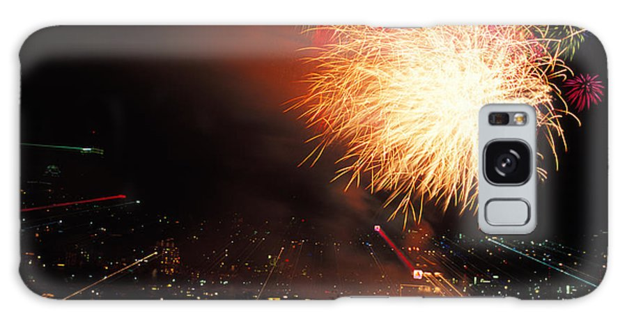 Boston Massachusetts Galaxy S8 Case featuring the photograph Beantown 4th Of July by Bucko Productions Photography