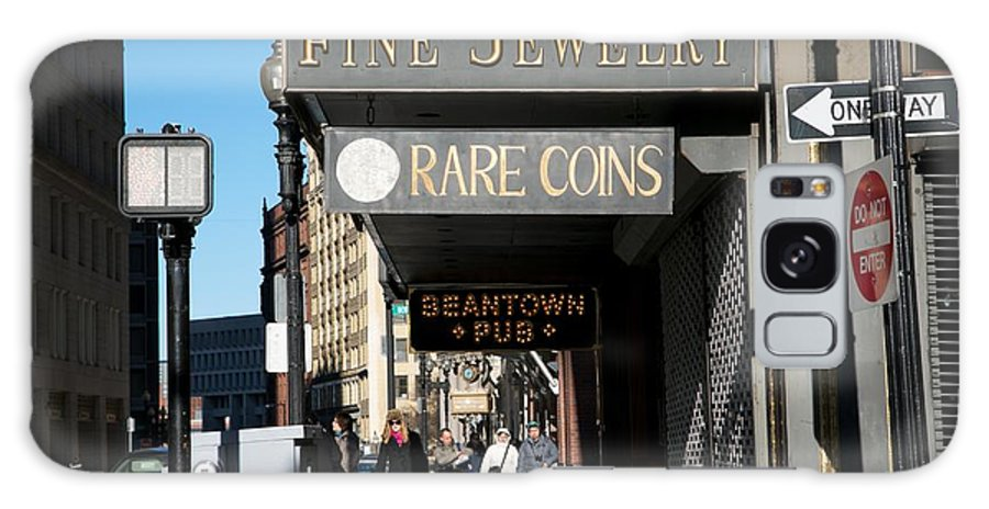 Tremont Street Galaxy S8 Case featuring the photograph Beantown Pub by Allan Morrison