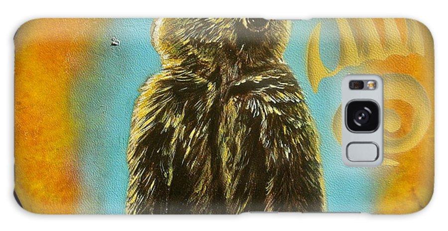 Bear Galaxy S8 Case featuring the mixed media Bear by Ethan Foxx