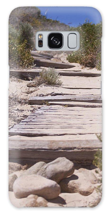 Beach Galaxy S8 Case featuring the photograph Beach Path by Michelle Wrighton