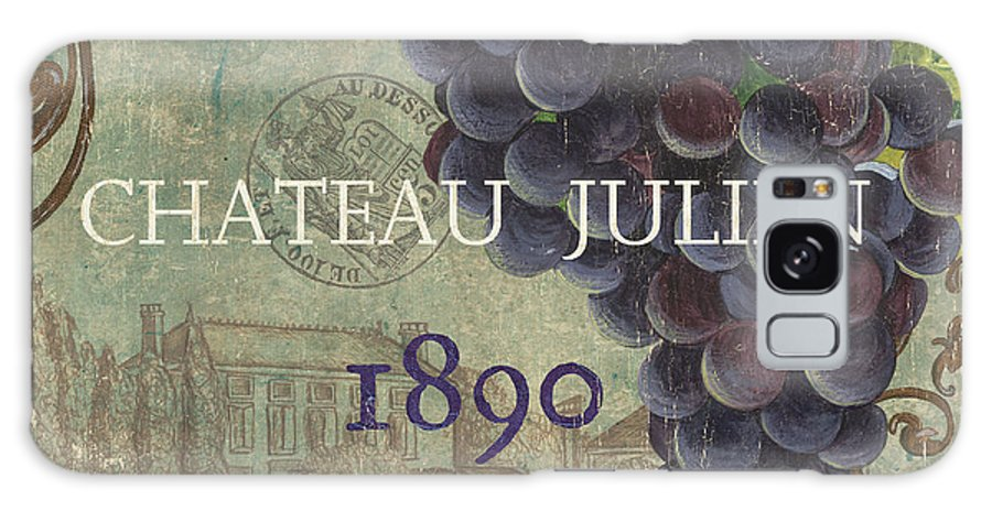 Wine Galaxy Case featuring the painting Beaujolais Nouveau 2 by Debbie DeWitt