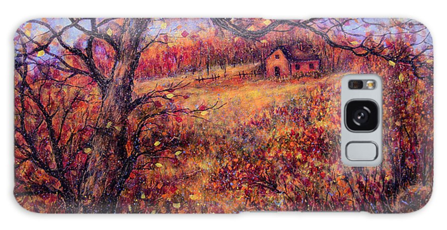 Autumn Galaxy S8 Case featuring the painting Beautiful Autumn by Natalie Holland