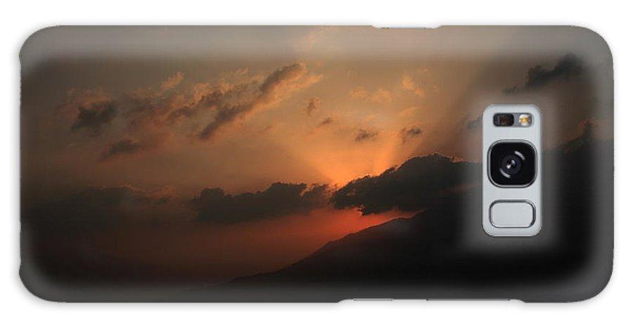 Morning Galaxy S8 Case featuring the photograph Beautiful Sunrise Of Shelapani by Vinod Madhok