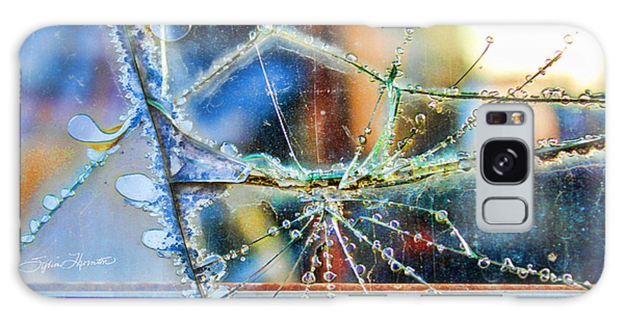 Abstract Art Galaxy S8 Case featuring the photograph Beautifully Broken by Sylvia Thornton