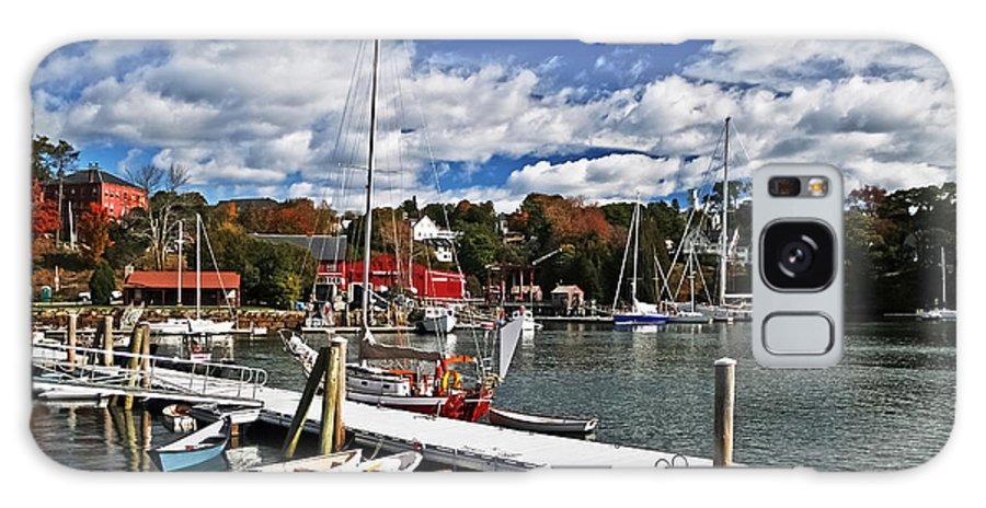 Travel Galaxy S8 Case featuring the photograph Beauty Of The Harbor by Elvis Vaughn