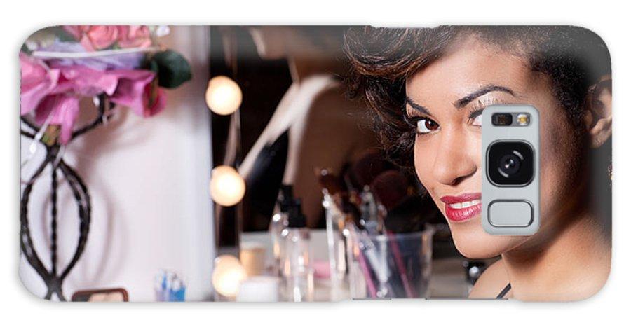 Makeup Galaxy S8 Case featuring the photograph Beauty Portrait by Artur Bogacki