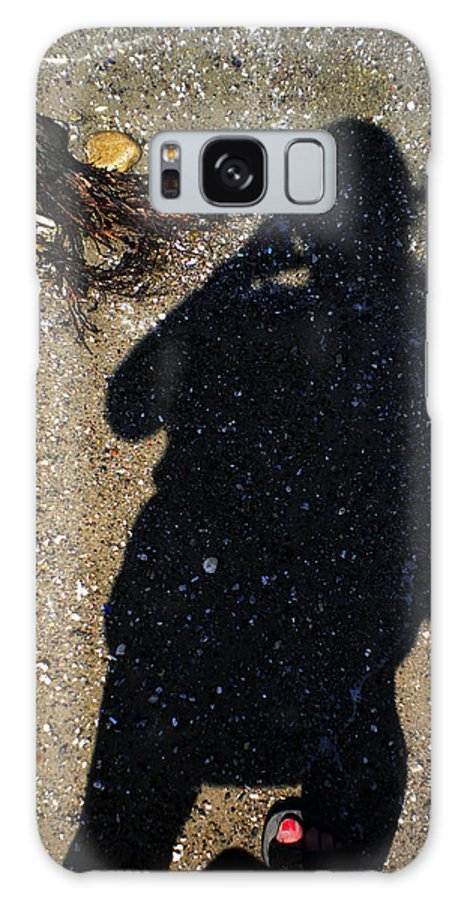 Colette Galaxy S8 Case featuring the photograph Becoming One With The Beach Stones by Colette V Hera Guggenheim