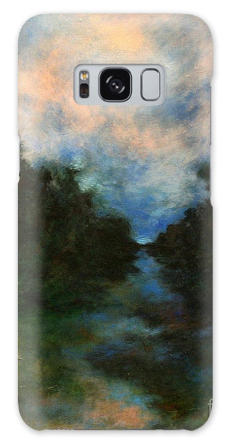 Impressionist Landscape Galaxy S8 Case featuring the painting Before The Dream by Alison Caltrider