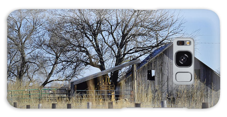 Old Barns Galaxy S8 Case featuring the photograph Behind The Fence by Renie Rutten