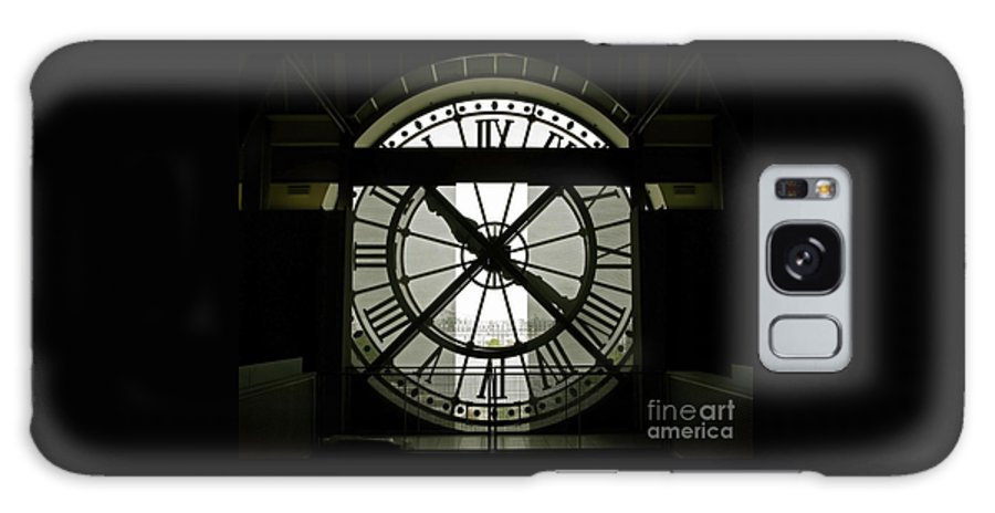Clock Galaxy S8 Case featuring the photograph Behind Time by Ann Horn