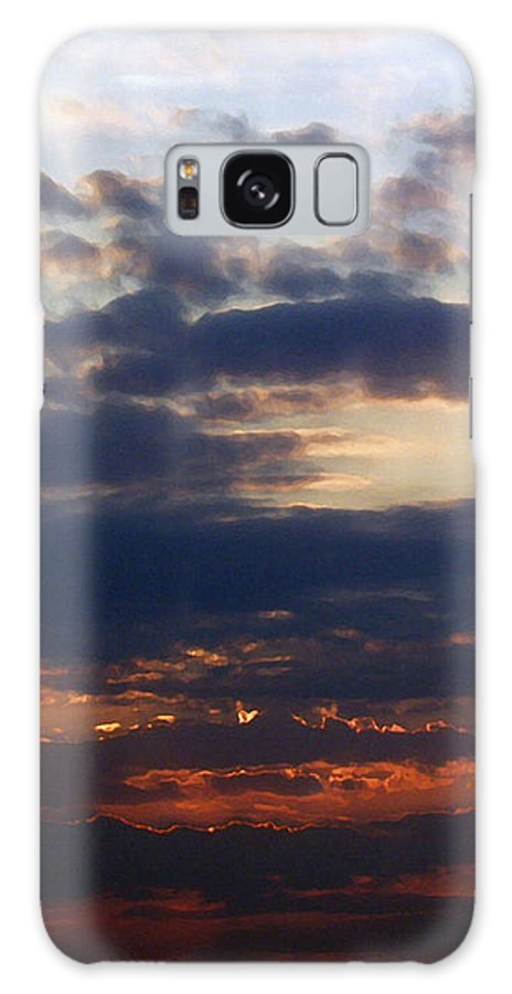 Behold The Dawn Galaxy S8 Case featuring the painting Behold The Dawn by Ellen Henneke