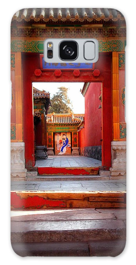 China Galaxy S8 Case featuring the photograph Beijing's Forbidden  by Ashley Silva