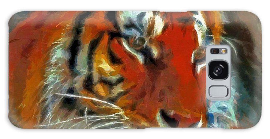 Bengal Galaxy S8 Case featuring the painting Bengal by Lynne Jenkins