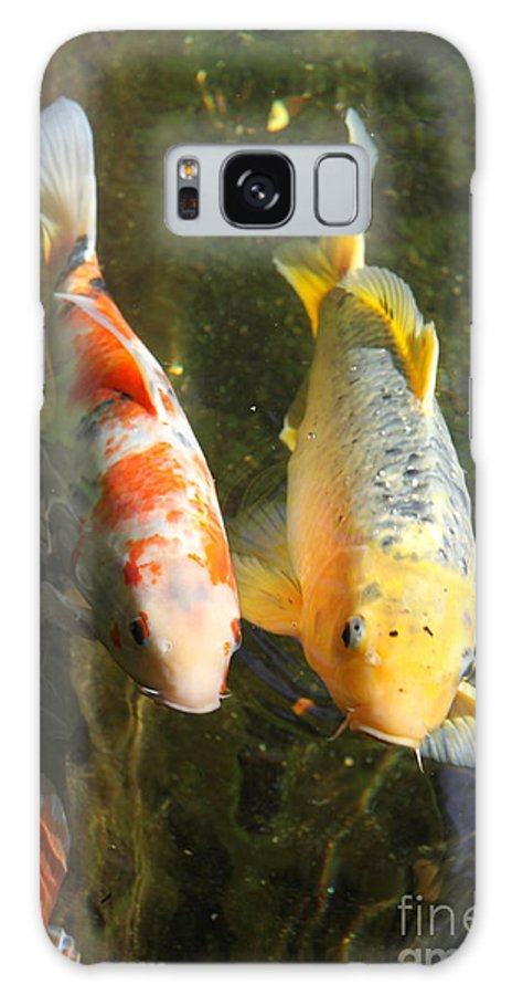 Koi Galaxy S8 Case featuring the photograph Best Friends by Christiane Schulze Art And Photography