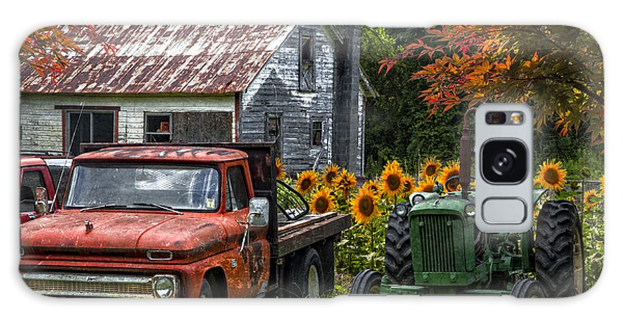 Appalachia Galaxy S8 Case featuring the photograph Best Friends by Debra and Dave Vanderlaan