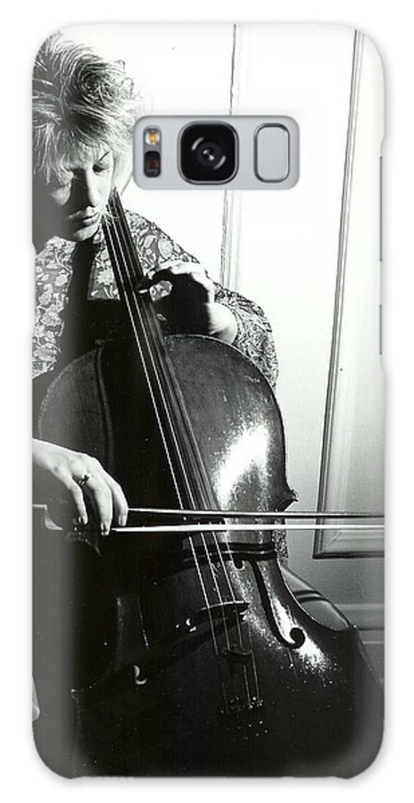 Music Galaxy S8 Case featuring the photograph Beth And Oiled Cello by Brad Williams