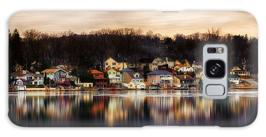 Lake Hopatcong Galaxy S8 Case featuring the photograph Betrand Island by Mark Miller