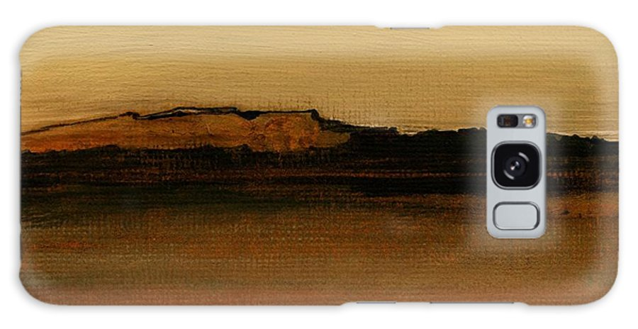 Fineartamerica.com Galaxy S8 Case featuring the painting Between The Woods And Frozen Lake  Number Two by Diane Strain