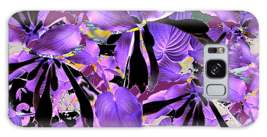 Beware The Midnight Garden Galaxy S8 Case featuring the digital art Beware The Midnight Garden by Seth Weaver