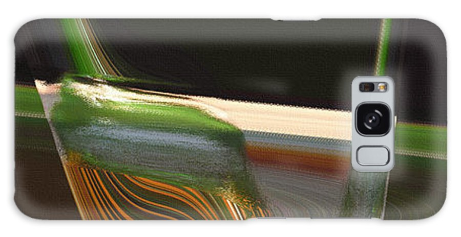 Abstract Galaxy Case featuring the painting Beyond the Spectrum of Life by Pharris Art